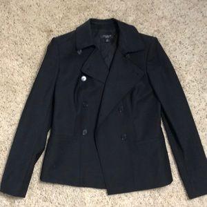 Ann Taylor black NWOT blazer 0P